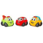 Smoby Planet: Vroom 3 darabos járműszett - kisautók