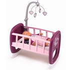 Baby Nurse: bölcső kiságyforgóval - rózsaszín