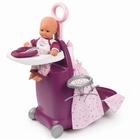 Centru de îngrijire 3în1 pentru păpuși Baby Nurse, Smoby - mov
