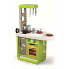 Bucătărie electronică Cherry, Smoby - verde-alb