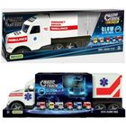 Camion ambulanță  Magic Truck fluorescent, Wader - 81 cm