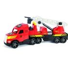 Camion de pompieri Magic Truck fluorescent, Wader - 81 cm