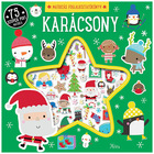 Miklya Anna: Karácsony matricás foglalkoztatókönyv pufi matricákkal