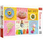 Trefl: Neon Color Line Prăjituri de vis - puzzle cu 1000 de piese