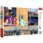 Trefl: Neon Color Line New York City - puzzle cu 1000 de piese
