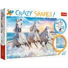 Trefl Crazy Shapes: Vágta a habok között 600 db-os puzzle