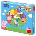 Cuburi de povești Peppa Pig, 12 buc.