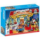 Playmobil Calendar de crăciun, Crăciun la magazinul de jucării - 70188