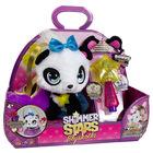 Figurină de pluș Shimmer Stars, Ursulețul panda Pixie deluxe cu accesorii
