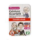 Géniusz Kvartett - Zseniális elmék kártyajáték