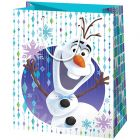Disney hercegnők Jégvarázs: Olaf álló dísztasak - 17 x 10 x 23 cm
