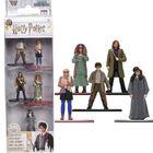 Harry Potter: 5 darabos fém mini figura szett - Harry, Sirius Black, Luna Lovegood Trelawney tanárnő, Hisztis Mirtill