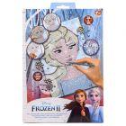 Disney hercegnők Jégvarázs 2: Flitter mozaikkép készítő szett