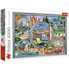 Trefl: Vacanță italiană - puzzle cu 1000 piese