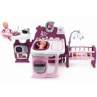 Smoby: Baby Nurse centru de îngrijire pentru bebeluşi - mov