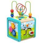 Tooky Toy: Fa foglalkoztató kocka