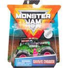 Monster Jam: Grave Digger kisautó figurával - kétféle