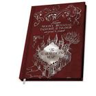 Harry Potter: Tekergők Térképe jegyzetfüzet