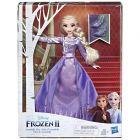 Prințesele Disney: Frozen 2 - Prințesă Elsa deluxe, în rochie violet