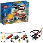 Lego City: Intervenție cu elicopterul de pompieri 60248