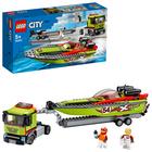LEGO City: Versenycsónak szállító 60254