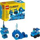 LEGO Classic: Cărămizi creative albastre 11006
