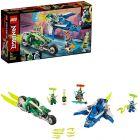 LEGO Ninjago: Mașinile rapide de curse ale lui Jay și Lloyd 71709