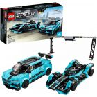 LEGO Speed Champions: Formula E Panasonic Jaguar Racing GEN2 car és Jaguar I-PACE eTROPHY 76898