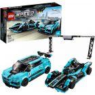 LEGO Speed Champions: Formula E Panasonic Jaguar Racing GEN2 car és Jaguar I-PACE eTROPHY 76898