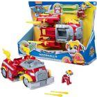 Paw Patrol Mighty Pups: Vehicule transformabile - Mașina de pompier a lui Marshall