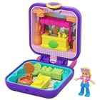 Polly Pocket: Lila mini szett - Piaci stand