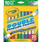 Crayola: Kétvégű, színes filckészlet - 10db-os