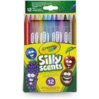 Crayola: Csavard és szagold színes ceruzák - 12db-os