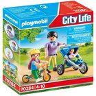 Playmobil City Life: Mama cu copii 70284