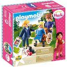 Playmobil Heidi: Clara cu tatăl ei și cu domnișoara Rottenmeier 70258