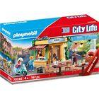 Playmobil: Pizzeria cu grădină de vară 70336