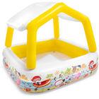 Intex: Gyermek pancsoló árnyékolóval - 157 x 157 x 122 cm