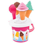 Set pentru nisip cu design înghețată