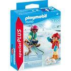 Playmobil: Gyerekek szánkóval