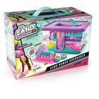 Canal Toys: So Sand ASMR mágikus homokkészítő nagy szett bőröndben