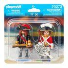 Playmobil: Căpitan pirat și soldat Duo Pack 70273