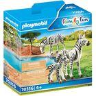 Playmobil: Zebracsalád 70356