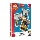 Pompierul Sam. joc de cărți Păcălici