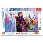 Frozen 2: puzzle cu chenar cu 15 piese