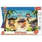 Paw Patrol: puzzle cu chenar cu 15 piese
