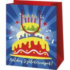 Boldog Születésnapot álló dísztasak - 11 x 6 x 14 cm