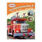 Locomotiva Thomas: Aventurile locomotivelor 4. - Flynn, Hiro și Toby, carte în lb. maghiară