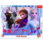 Frozen 2: puzzle cu chenar cu 25 piese
