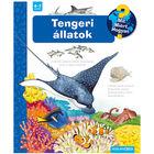 Animale marine - carte educativă în lb. maghiară