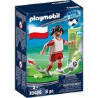Playmobil: Lengyel válogatott focista 70486